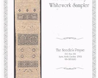 The 17th Century Whitework Sampler by The Needle's Prayse