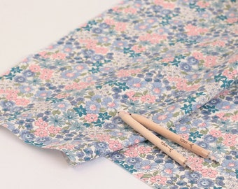 Petit Flowers Printed Cotton  by the yard (width 44 inches) 87956