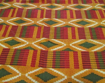 """HOMELAND AUTHENTiC AFRiCAN FABRiC 1yd x 44"""" wide"""