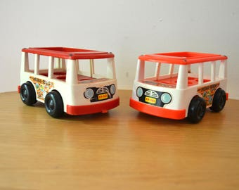 Fisher Price Mini Bus Mini Van