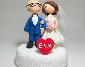 Cute wedding cake topper Centerpiece Decoration