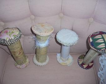Handmade Wood Spools