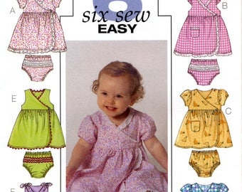 Butterick B4432 Sewing Pattern for Infants' Dress and Panties - Uncut - All Size