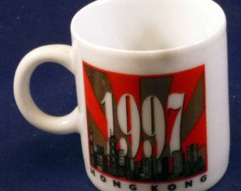 Vintage Hong Kong Commemoration Mini Cup, 1997