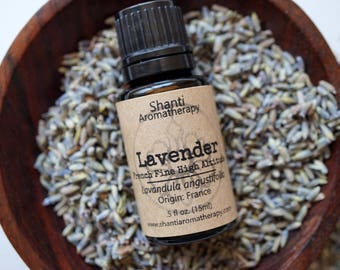Lavender Essential Oil - French Fine High Altitude - Pure Essential Oil