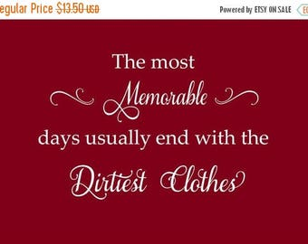 20% OFF Laundry decal- Vinyl Lettering wall words graphics  decals  Art Home decor itswritteninvinyl