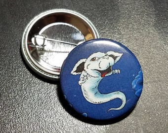 Never ending story Falcor - Button, Magnet, or Mirror