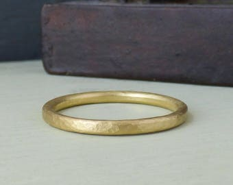 Zues 18ct Fairtrade Ethical Men's Wedding Ring