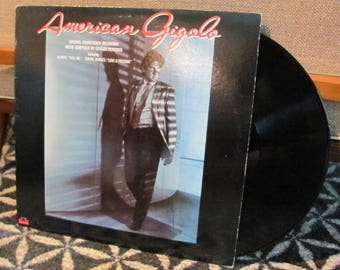 "Vintage ""American Gigolo"" Original Soundtrack Recording - 80's Movie Starring Richard Gere - 80's Soundtrack"
