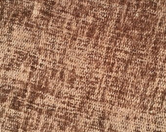 Chenille Upholstery Fabric, Brown Fabric Per Yard