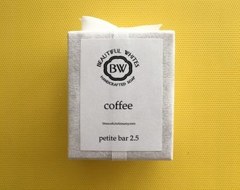 Petite Coffee Soap | Cold Process | Plant Based