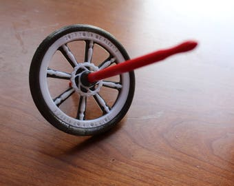 Tour de Fleece Bicycle Wheel Bottom Whorl Spindle 3D Printed