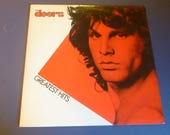 The Doors Greatest Hits Vinyl Record LP SE-151 Stereo Electra/Asylum Records 1980