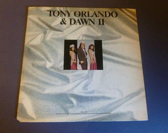 Tony Orlando & Dawn II Vinyl Record LP Bell 1322 Bell Records 1974