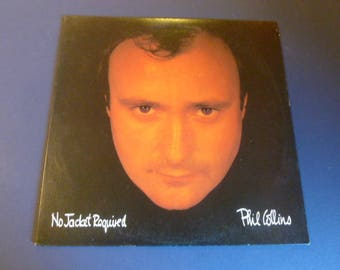 Phil Collins No Jacket Required Vinyl Record LP 781240-1 Atlantic Records 1985