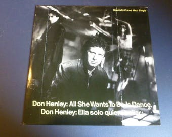 Don Henley All She Wants To Do Is Dance Vinyl Record LP Maxi Single 0-20314 Geffen Records 1984