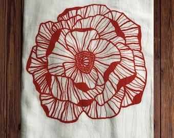 Poppy Tea Towel