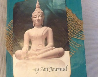 Zen  Junk Journal, handmade Journal, Travel Journal