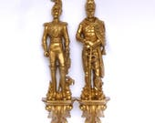 Vintage SYROCCO FRENCH SOLDIERS Wall Decor