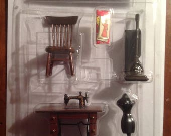 Miniature sewing room New