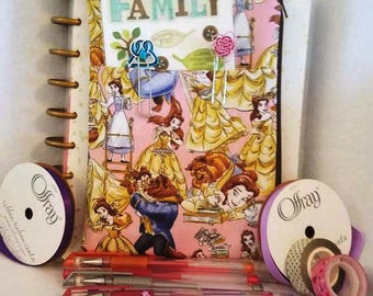 Beauty and the beast Planner pouch accessory holder