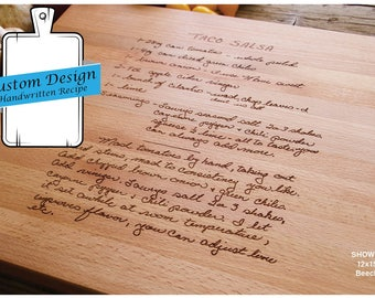 Custom Fee for Engraved Item, Family Recipe, Custom Recipe Engraving, Handwritten Recipe, Housewarming Gift, Christmas Gift