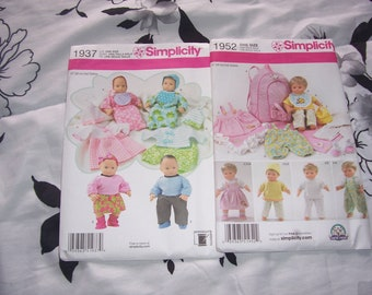 Butterick Doll Clothes Patterns