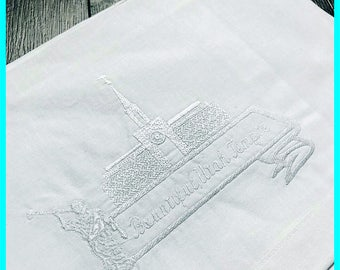 Bountiful Utah Temple Envelope - Plain Edge