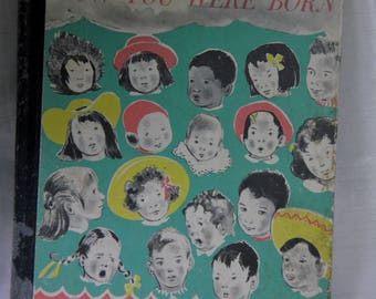 1959 The Wonderful Story of How You Were Born Children's Book by Sidonie Matsner Gruenberg