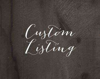 Custom Designed Listing for Sean Mathews, 3 Printed Cards Plus Shipping