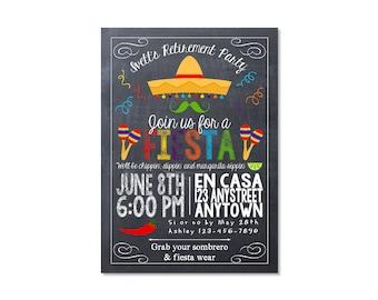 Fiesta Retirement Invitation