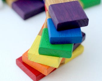 Rainbow Dominoes