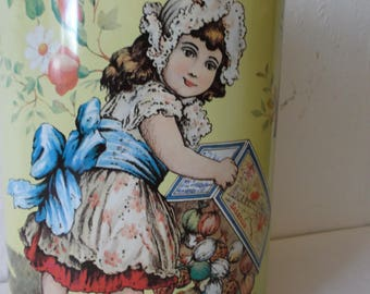 Rare Italian Vintage Tin Rinomata Amaretti Biscuits Metal Box