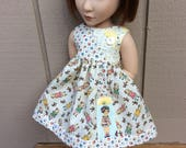 "1930's reproduction, pocket, 16"" doll clothes,  fit A Girl for All Time"