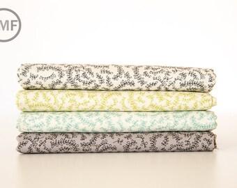 Road 15 Vine Street Fat Quarter Bundle, 4 Pieces, Sweetwater, Moda Fabrics, 100% Cotton Fabric, 5525