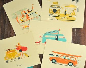 Makai Series- 5 - 8x10 Matted Prints (11x14)