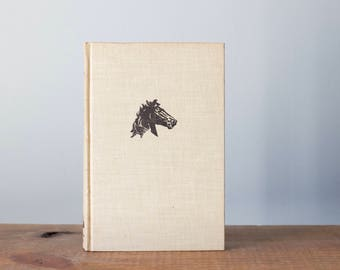 Vintage Hardback Edition The Black Stallion Book | Author Walter Farley | Illustrator Keith Ward