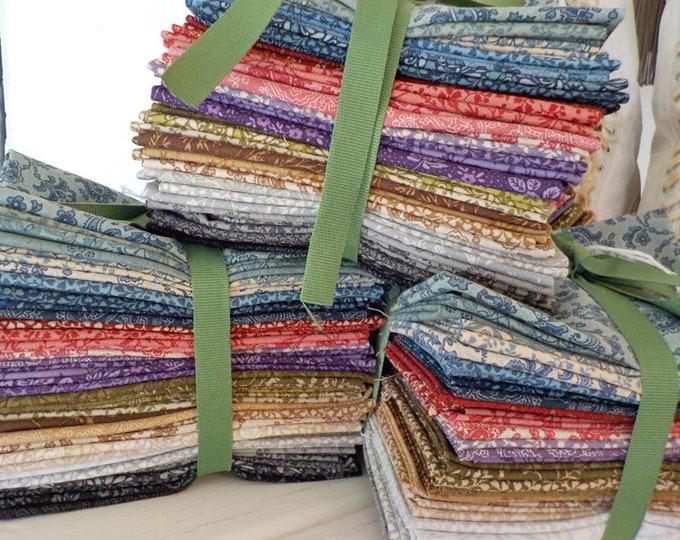 Puzzle Pieces by Moda Fabrics...fat 16th bundle...60 prints