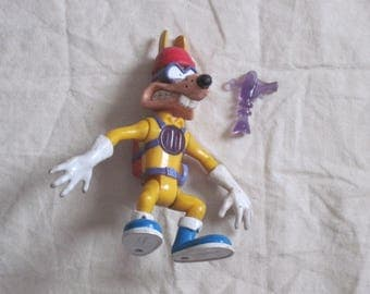 1991 Playmates Toys Darkwing Duck Megavolt Action Figure