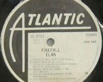 Firefall Elan - UPCYCLE Vinyl Record Bowl
