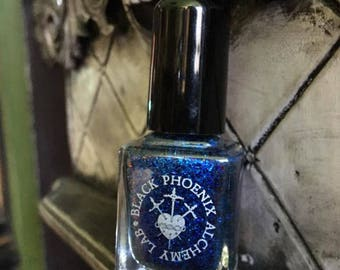 Blue Dragonscale : Claw Polish by Black Phoenix Alchemy Lab and Trading Post