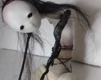 OOAK Art doll - The Searching