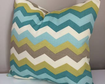 Waverly Sun and Shade pillow cover, 16x16, envelope pillow cover