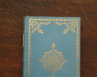 Leather bound Jane Austen, Sense and Sensibility, vintage book