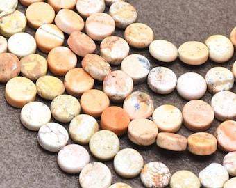 39 HOWLITE Beads Strand - 10x10x4mm - COD6763