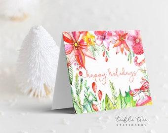 Christmas Card Collection - Holiday Garden