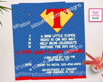 Lovely SUPERMAN BABY SHOWER, Superman Baby Shower Invitation, Supergirl Shower  Invite, Supergirl Shower,