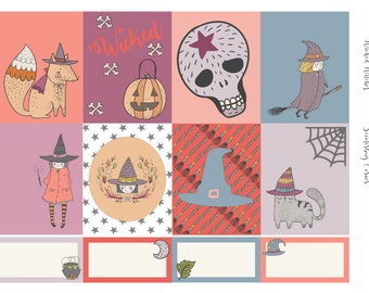 Wicked Witches Planner Sticker Set