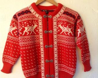 Warm Dale of Norway wool cardigan