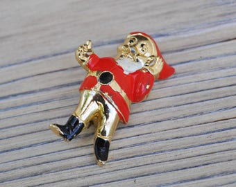 "Vintage USSR kids badge,pin.""Cartoon character"""